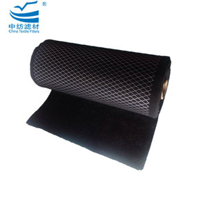 Activated Carbon Odor Absorbing G4 Air Filter Sheet