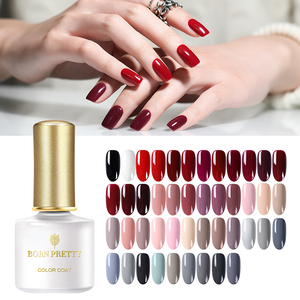 BORN PRETTY 175 Colors Nail Gel Pure Color Series Soak Off UV Nail Art UV Gel Polish
