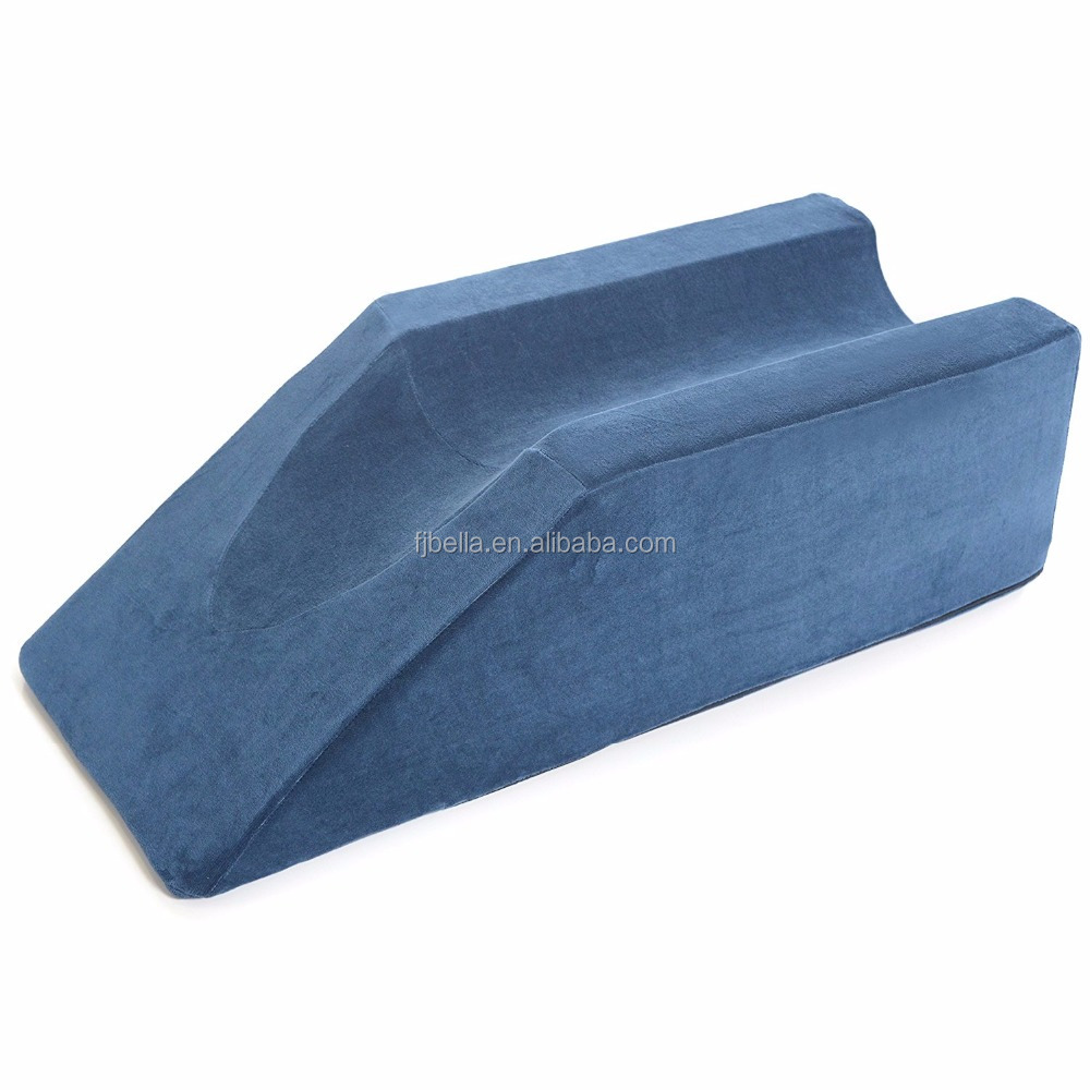 Foam Leg Elevator Cushion Inclined Wedge Leg Rest Support Pillow With Removable Cover