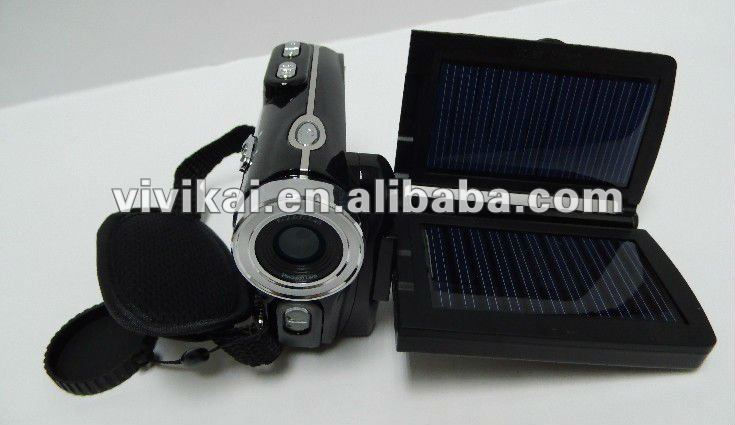 "vivikai 16mp digital video camera with solar charge and bettery powered & 3.0"" and 16x digital zoom(DV-T90+)"