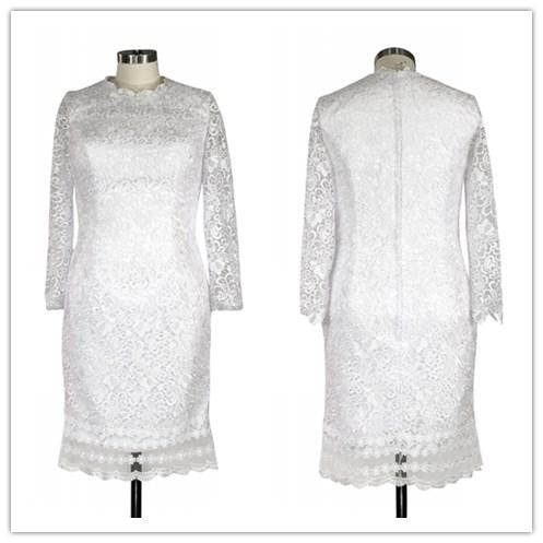 Großhandel brautjungfer kleid lang weiß Kaufen Sie die besten ...