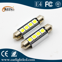 C5W Festoon Bulb CAN BUS 42MM 5050 LED 12V Dome Map Interior Light For All Cars