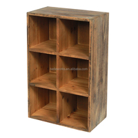 Hot Sale Antique Wooden Bookshelf,Simple Bookshelf Divider