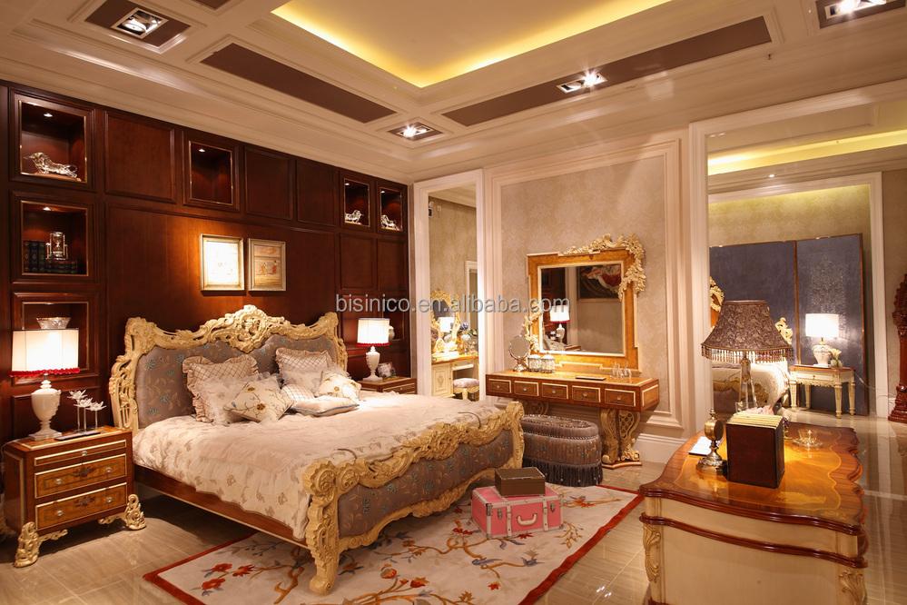 Slaapkamer Meubels Set : Bisini luxe meubels slaapkamermeubilair set italiaanse klassieke