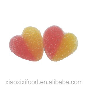 Pink mini sweet heart jelly gummy