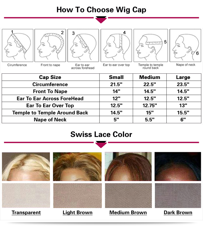 10A Wig Rambut Manusia Renda Penuh Warna Sorot Tanpa Lem untuk Wig Rambut Perawan India Wanita Hitam Wig Gaya Gelombang Renda Depan