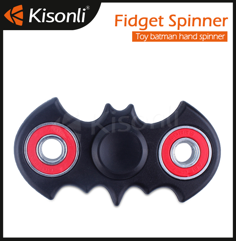 Fast Bearings Finger fidget spinner,figet toy bat hand spinner
