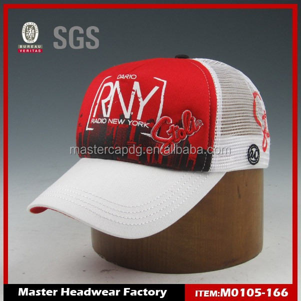 High Standard Polyester Breathable Low Profile All Mesh Caps At ...