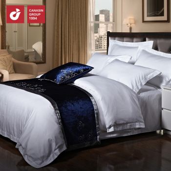 High Quality Luxury Egyptian Cotton Sa Jacquard Pattern Bed Linen Sheets