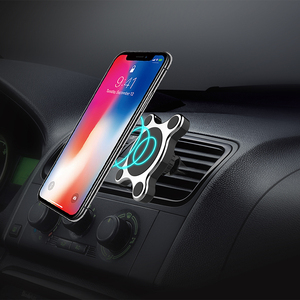 New Invention 2018 New Products In-qi Wireless Car Power Charger With Holder