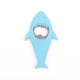 Shark Stainless Steel Key Chain Ring Silicone Bottle Opener Jar Can Opener