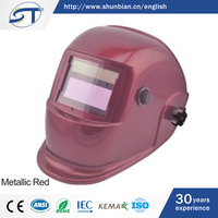 SHUNTE Full Face Solar Energy Auto Darkening Dimming Welder Head Shield Helmet
