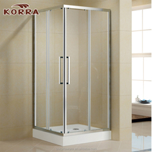 Sliding Open Style square shape Shower enclousre,Aluminium profiles Frame glass door polished Surface shower room