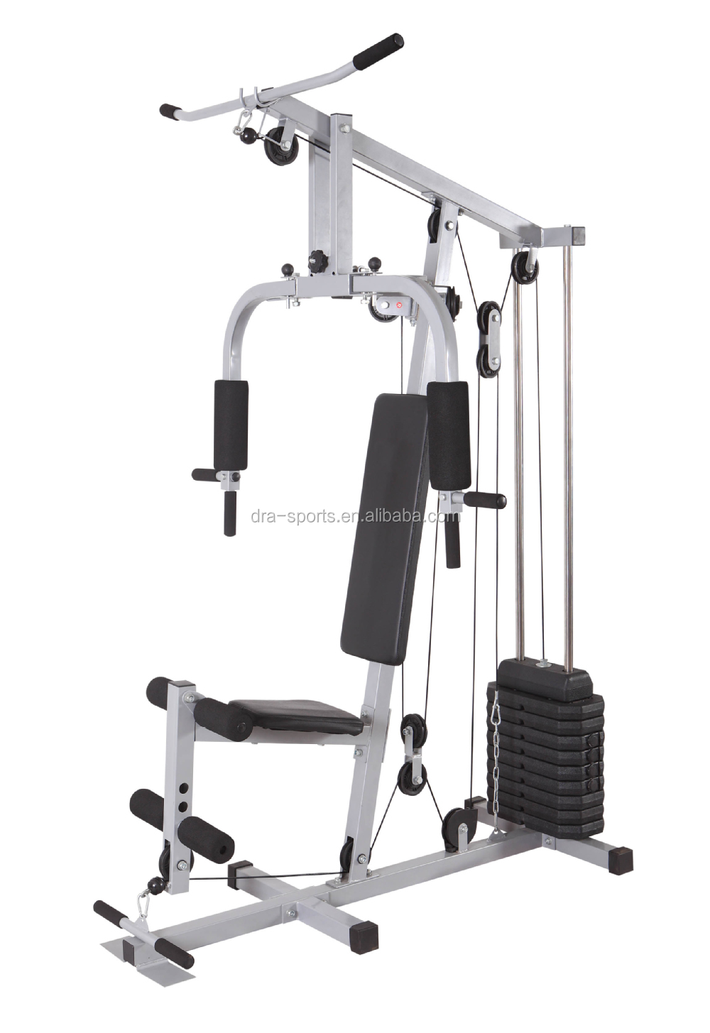 Fitness multi gym tower station for chest press exercising
