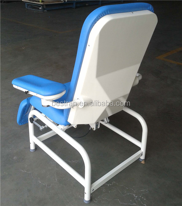 Bt Dn008 Hospital Height Adjustable Blood Drawing Chair