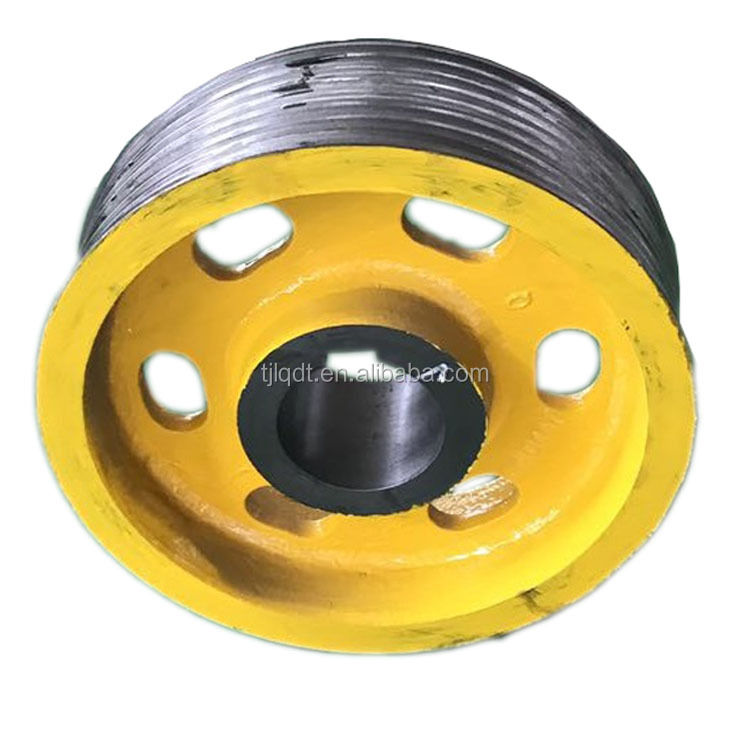 Toshiba lift sheave,elevator traction wheel ,lifts elevator parts ,330*7*8,330*6*8