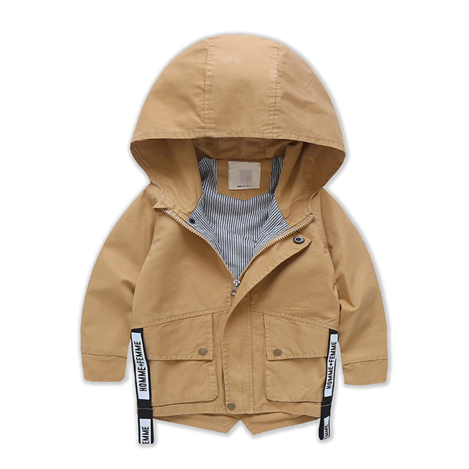 c9da11650 Get Quotations · Evan Fordd New Long Jackets for Boys Hooded Baby Boy  Windbreaker Boys Jackets and Coats