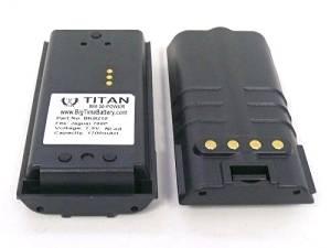 Replacement HARRIS JAGUAR 700P P7100 P7200 P5200 RADIO 1700 mAH BATTERY by Titan