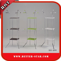Multifunction Clothes Rack, DIY Clothes Rack, Steel Clothes Rack