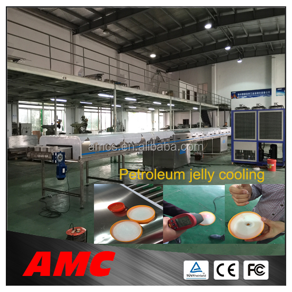 Stainless Steel Standardized Modules candy floss cooling tunnel