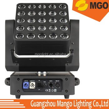5X5 LED Moving Head Light 25*12W Led Matrix