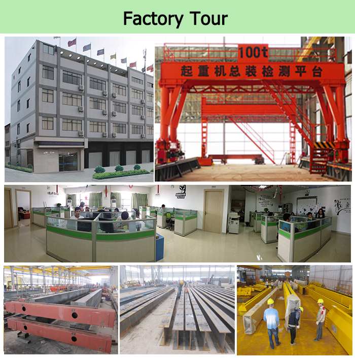 Professional Double Girder Engineering Gantry Crane Design