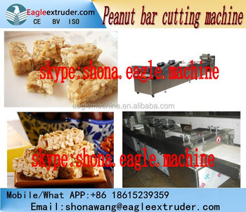 Automatic Crispy cereal energy bar making processing machine equipment