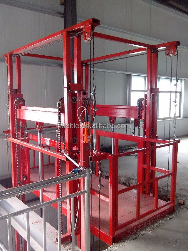 Residential Hydraulic Lifts : Hydraulic lift residential freight elevator price buy