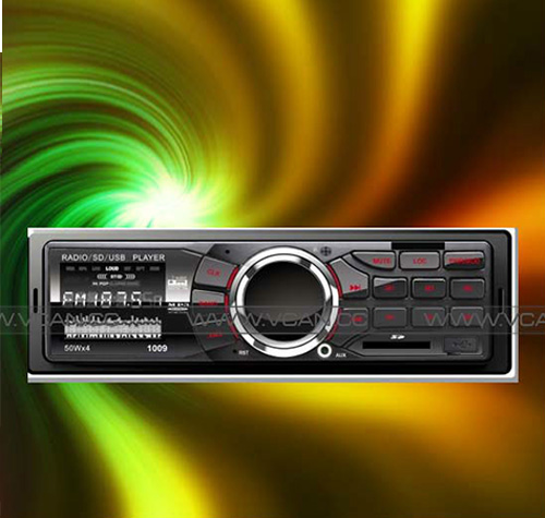 Promotional 13USD/PC car remote control MP3/FM/USB player VCAN0607