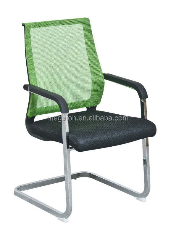 Cheap Visitor Chair Mesh Office Chair Cantilever Chair Without ...