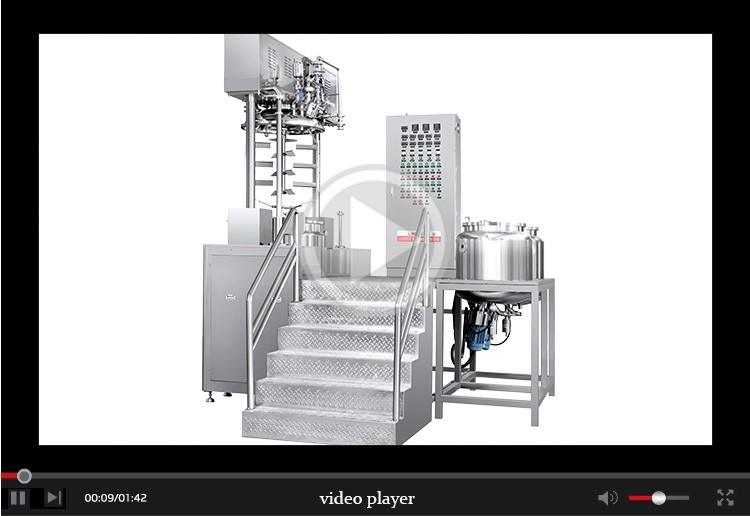 High qulity LM-S-ZN-D Intelligent vacuum homogenizer emulsifier A china supplier