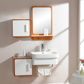 Jisheng Ghana Type Wood E1 Plywood Plate Under Basin Bathroom Cabinet Good Price Good Quality