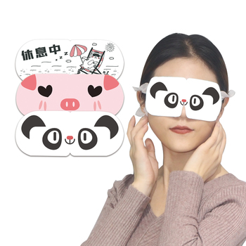 Amazon hot selling HODAF Rose Slapen stoom SPA verwarming Eye warmer Masker