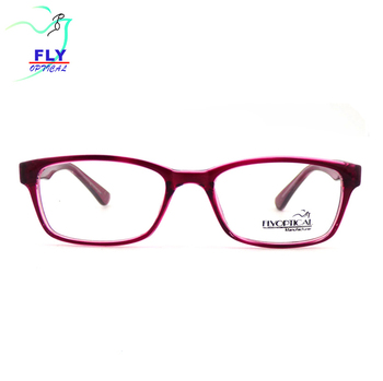 Wholesale Red Color Eye Glasses Frame For Women Plastic Eyewear Fashionable Injection Glasses