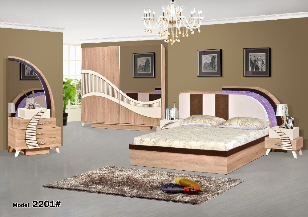 High Quality Master Royal Bedroom Furniture / Modern