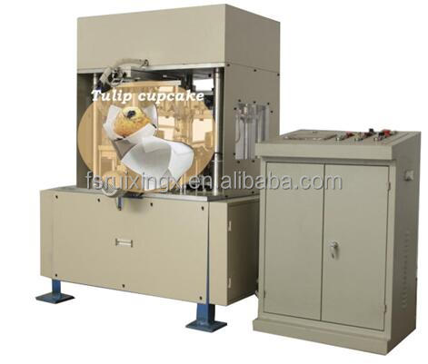 full automatic tulip baking cup machine