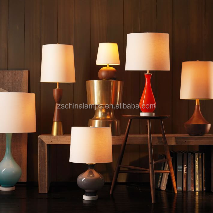 Wholesale Artistic Style Branch Table Lamp With Rectangle Fabric ...