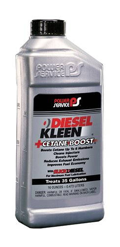 Power Service 03016-09 +Cetane Boost Diesel Kleen Fuel Additive - 16 oz.