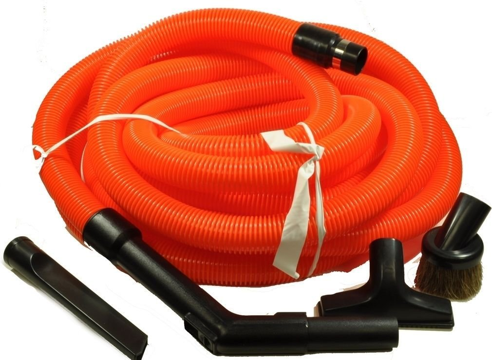 30' Central Vacuum Garage Kit w/ Hose and Tools for Nutone Electrolux