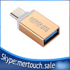 Aluminium Type C 3.1 adapter , ODM high Quality USB To Type C OTG for Mackbook, USB Type C 3.1 OTG adapter