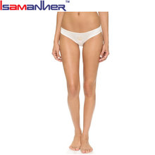 Days of the week underwear white satin panties for women