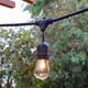 Outdoor Commercial Decoration Vintage Globe String Lights Edison Retro Bulb Weatherproof Strings