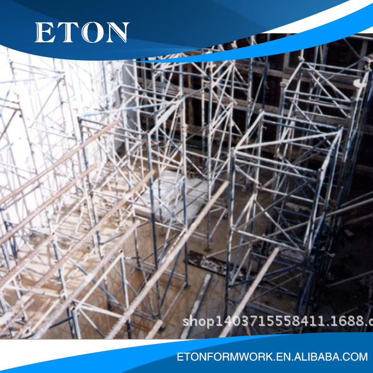 OEM Easy moveable Scaffold Platform scaffolding cantilever that 10mm Pipe wall thickness
