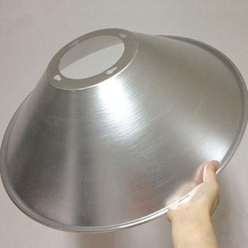 Spinnendes Aluminium Fuhrte Industriellen Metalllampenschirm Der