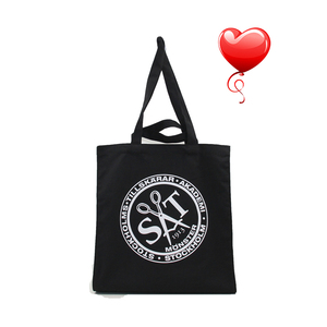 Standard Size 100% Organic Cotton Bag With Logo