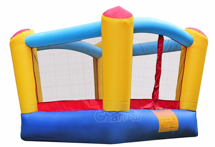 New Design cheap nylon bouncer/small indoor inflatable bouncer castle for toddlers