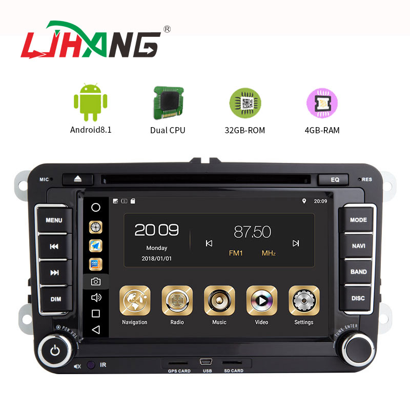 Android 8.1 PX6 4 + 32g Dual Cpu Doppel din auto dvd radio auto navigation system für PASSAT/Golf 5/POLO/CC lenkung-wheel control