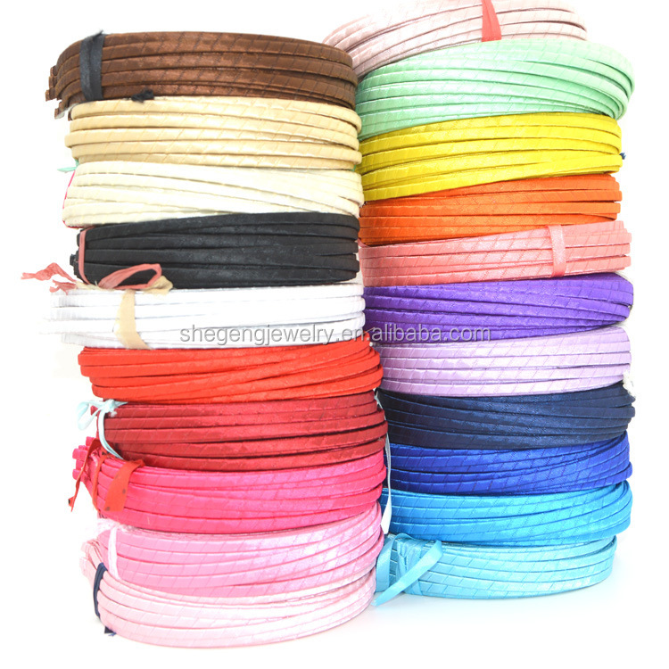 5mm METAL covered satin WHOLESALE LOTS HAIR BAND