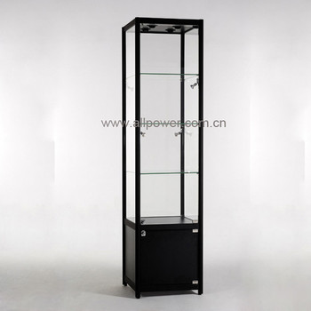 Lighted Glass Rack For Store,Clear Glass Display Case,Led Lighting Glass  Cabinet For Shop   Buy Lighted Glass Rack,Lighted Glass Showcase,Led  Lighting ...