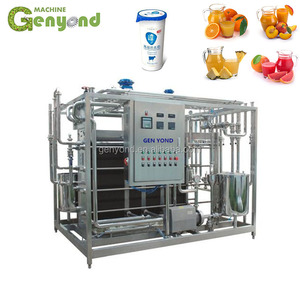 Small milk pasteurizermachine for juice milk and yoghurt pasteurization